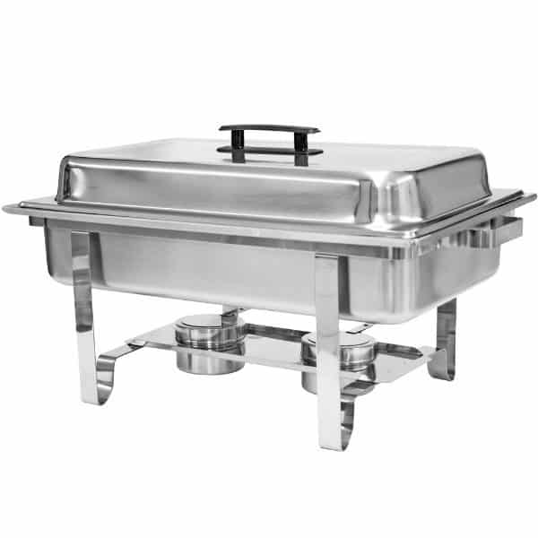 Chafers - Rectangle - 8 Quart - Lidded