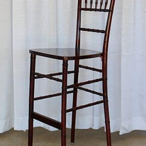 Chair - Chavari / Bar Stool - Mahogany - 01