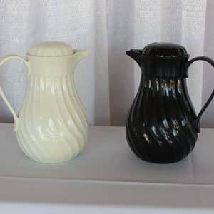 Pitcher - Insulated - Black and White