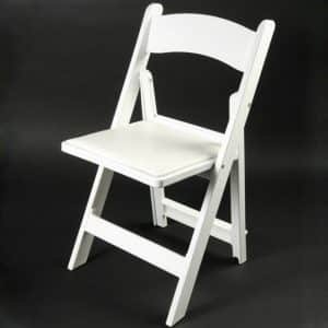 Chair - Folding - Resin - White - 01